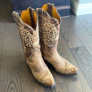 Laredo Women's Jasmine Snip Toe Cowgirl Boots